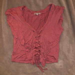 Pink Charlotte Russe shirt